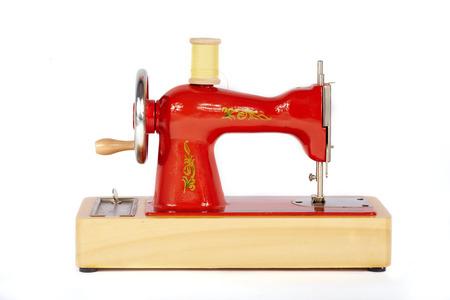 Vintage Manual Sewing Machine On White Background Stock Photo Gorgeous White Sewing Machine Manual
