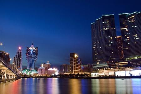 macau: Urban landscape in Macau, Asia.
