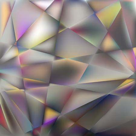 Geometric background. Crystal. The edges. Reflection. The rays. Gems. Angles. Glass.