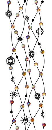 Diamond gems jewelry decoration