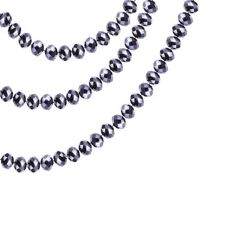 Diamonds. Gems. Crystals. Decoration. Jewelery exhibitions. Vector hair dryer. Luxuries.