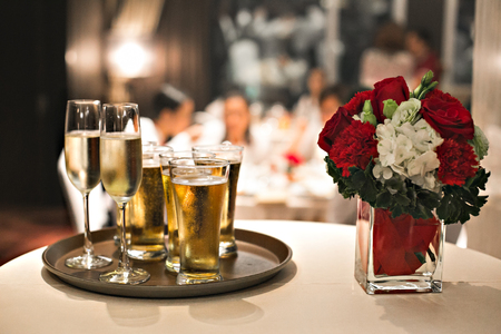 table wedding glass dinner wine restaurant flower celebration christmas champagne food decoration party white setting reception drink red elegant banquet flowers interior event candle alcohol joy reunion aggregation gather shoal crowd fete gala feast pomp