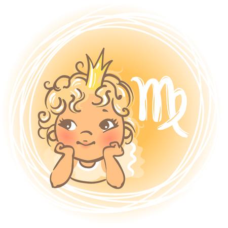baby angel: Bambino zodiacvirgo