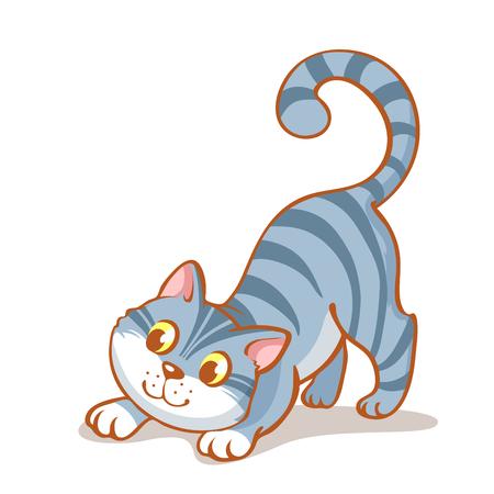 portrait of cat Illustration