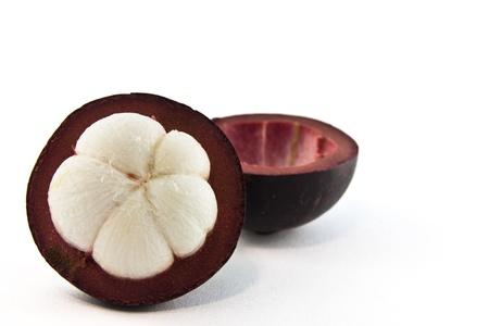 mangostano: Thai frutto del mangostano è il gusto dolce. Archivio Fotografico