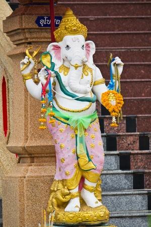 Ganesh, decorated robes, beautiful. photo