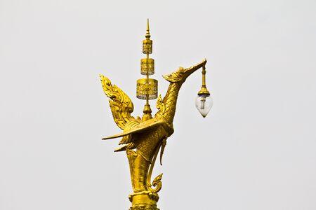 Swan lamp, in Thailand.