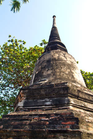 Limestone oldest pagoda in Thailand Stock Photo - 12851414