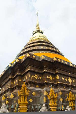 Pagoda in Lampang, Thailand  Stock Photo - 13067091