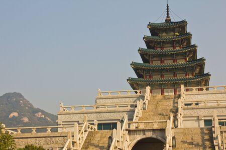 Korean  Temple  photo