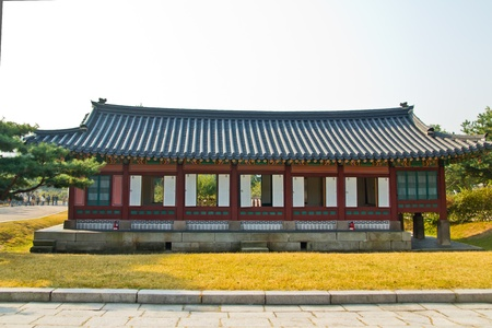traditional house: Traditional House , South Korea Stock Photo
