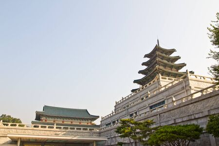 temple tower: Grand Korean Temple