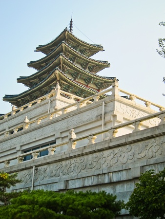 Korean Tower Temple Stock Photo - 13457874