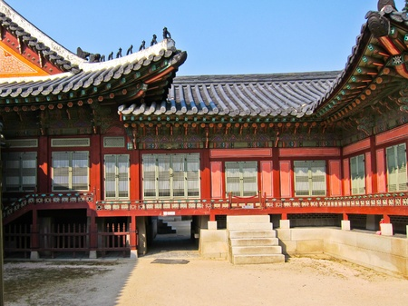 Traditional Korean House , South Korea
