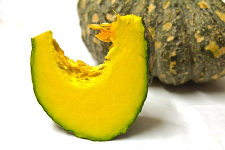 yellow pumpkin vegetable  photo