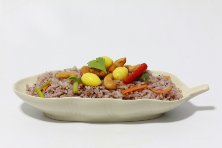 Chinese Cuisine - Fried Rice with Vegetables
