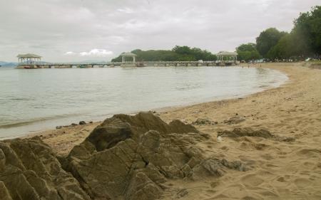 Harbor on the beach