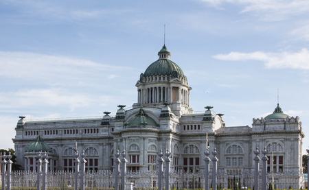 Former parliament house at Dusit Palace in Bangkok, Thailand old