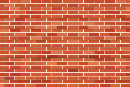 Bruine bakstenen muur achtergrond Vector Illustratie