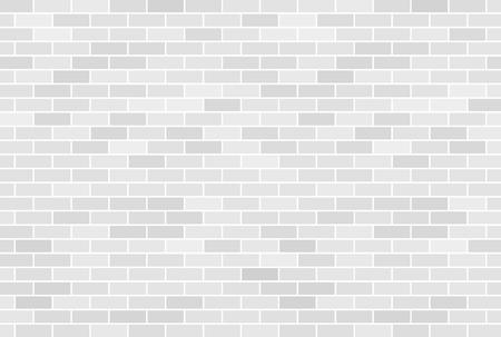 Witte bakstenen muur achtergrond Stock Illustratie