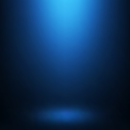 Abstract gradient blue, used as background for display your products Illustration