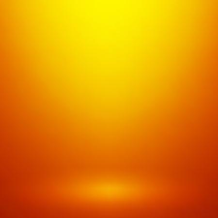 product display: Abstract orange gradient background. Used as background for product display Illustration