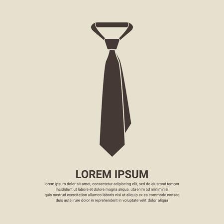 Tie icon - Vector Illustration