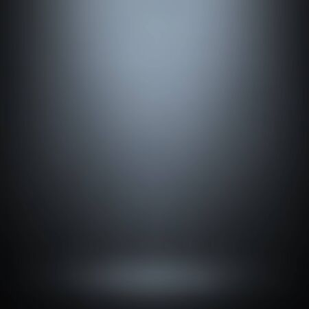product display: Abstract gray gradient background. Used as background for product display - Vector