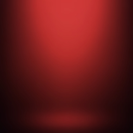 product display: Abstract red gradient background. Used as background for product display - Vector