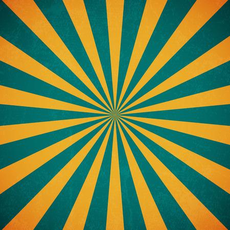 Los rayos del sol, de papel viejo con manchas - vector Ilustración de vector