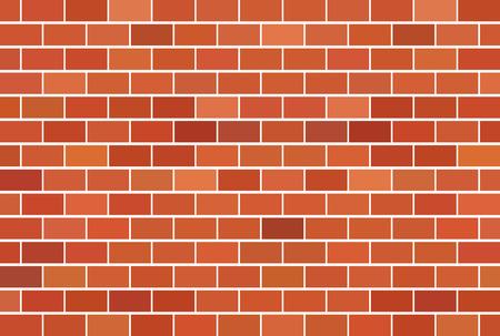 Bruine bakstenen muur achtergrond - Vector