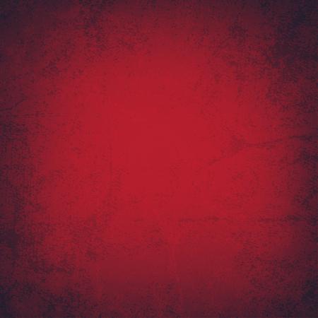 red grunge background: Red grunge background - Vector Illustration