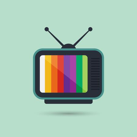 Icono de la Televisi?n Ilustración de vector