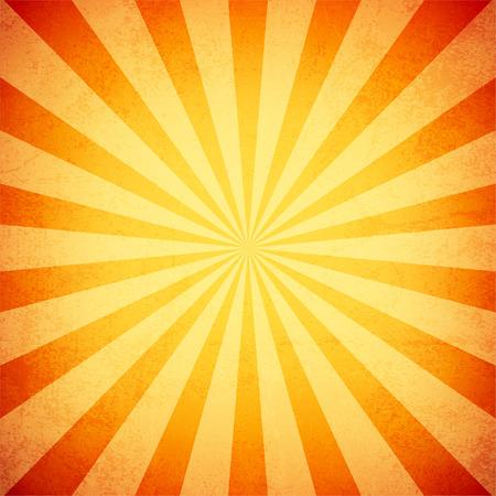 Los rayos del sol, de papel viejo con manchas