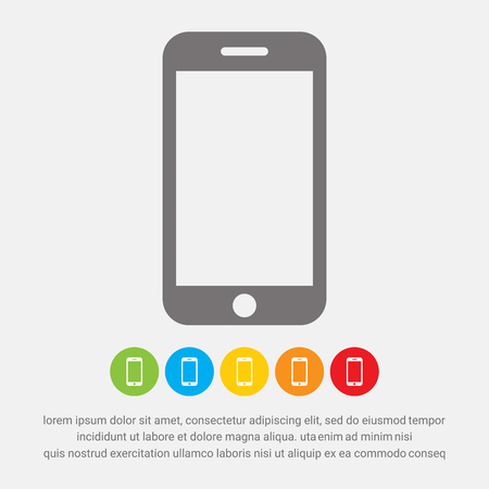 phone icon: Smart phone icon - Vector