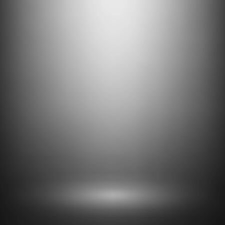 product display: Abstract gray gradient. Used as background for product display. Vector illustration.
