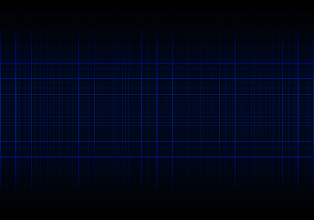 Vector blue plotting graph grid