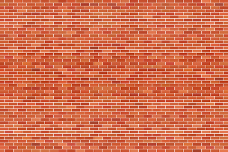Brown brick wall background Vector Illustratie