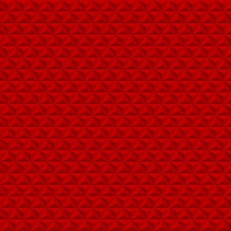 Red geometric texture. Christmas background