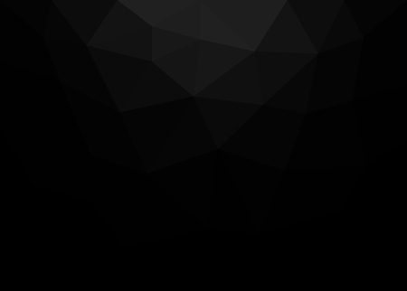 Abstract black geometric vector background Ilustrace