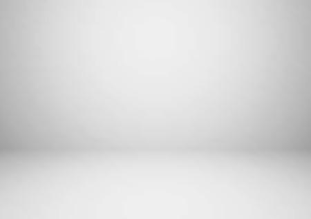 Leerer grauer Studioraumvektorhintergrund. Kann zur Anzeige oder Montage Ihrer Produkte verwendet werden