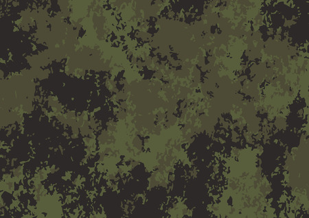 Army green camouflage pattern background. Vector illustration eps 10 Ilustrace