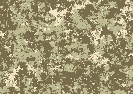 Camouflage pattern background. Vector illustration eps 10 Ilustração