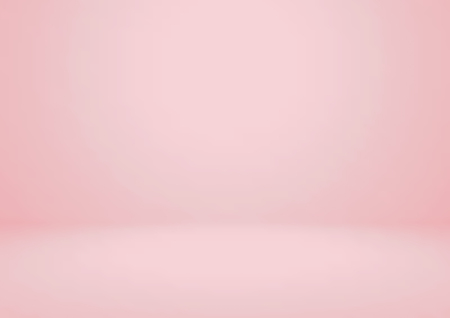 Empty pink studio room vector background. Can be used for for display or montage your products Ilustrace