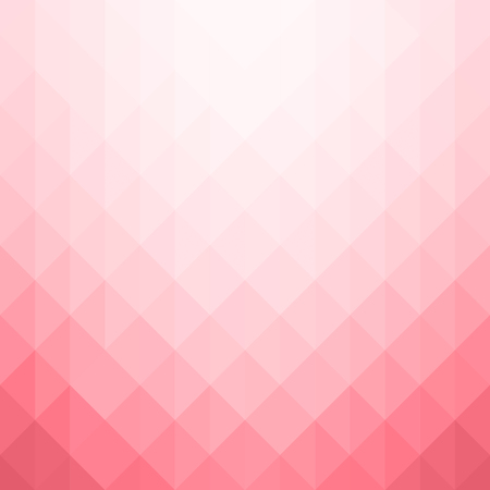 Abstract geometric pattern. Pink triangles background. Vector illustration eps 10