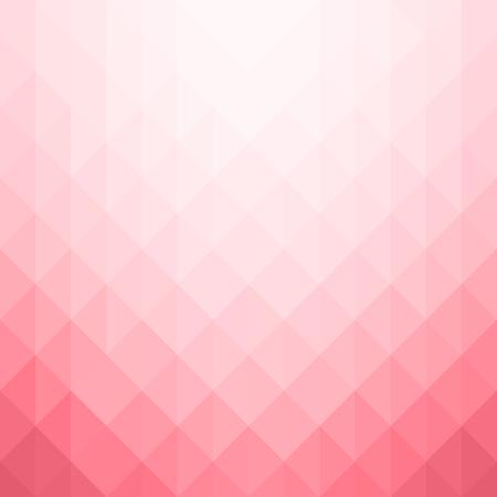 Patrón geométrico abstracto. Fondo de triángulos rosa. Ilustración vectorial eps 10