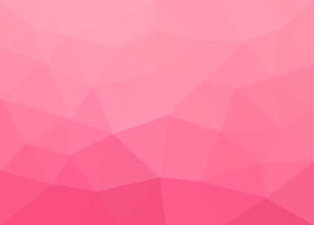 Abstract pink polygonal vector background