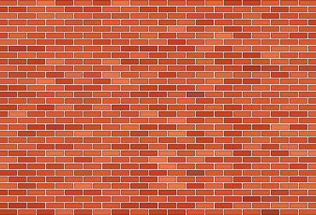 Hintergrund der braunen Backsteinmauer Vektorgrafik
