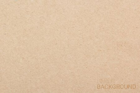 Brown paper texture background, Vector illustration