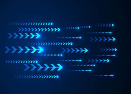 Hi-tech digital technology concept, High speed movement design
